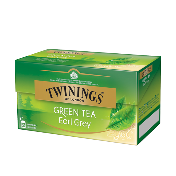 Twinings Green Tea Earl Grey Grüntee