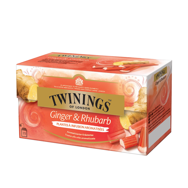 Twinings Ginger Rhubarb Kräutertee