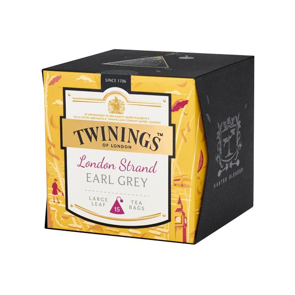Twinings London Strand Earl Grey, Platinum Thé