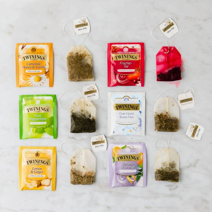 Twinings infusions aux plantes et aux fruits