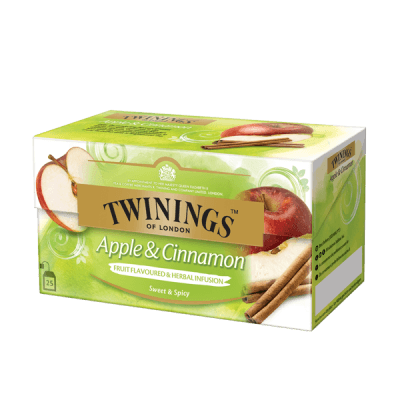 Twinings Apple & Cinnamon, Infusion aux fruites