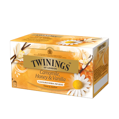Twinings Camomile, Honey, Vanilla Tisane thé