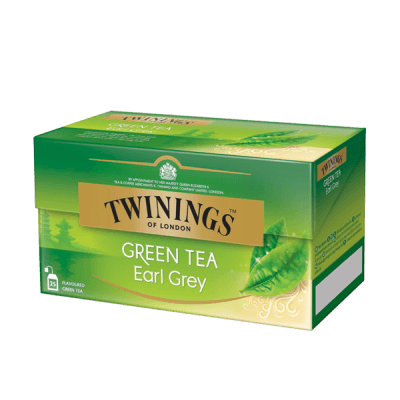 Twinings Earl Grey Green Tea thé vert