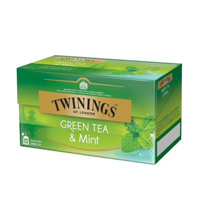 Twinings Green Tea & Mint thé vert