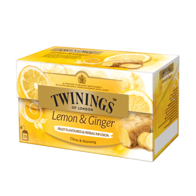 Twinings Lemon & Ginger Tisane thé