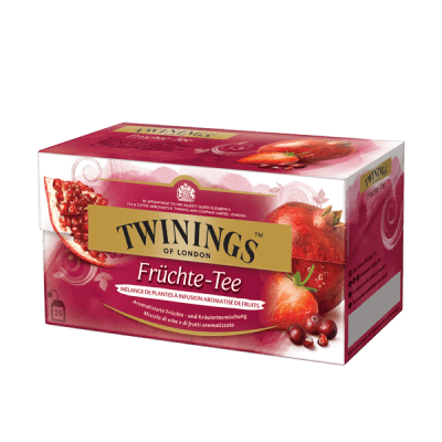 Twinings Mélange de fruits, Infusion