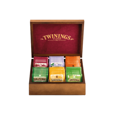 Twinings Holzbox «Frühling»