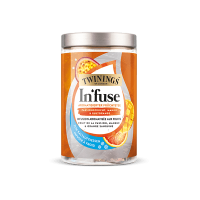 Twinings In'fuse Fruit de la passion, Mangue & Orange sanguine